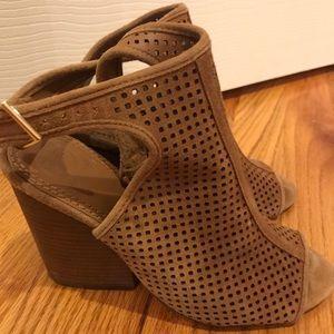 Tory Burch Jesse Open Toe Bootie Sandals